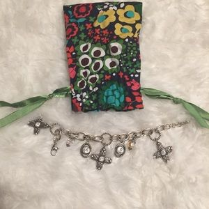 Brighton Charm Bracelet with matching Earrings